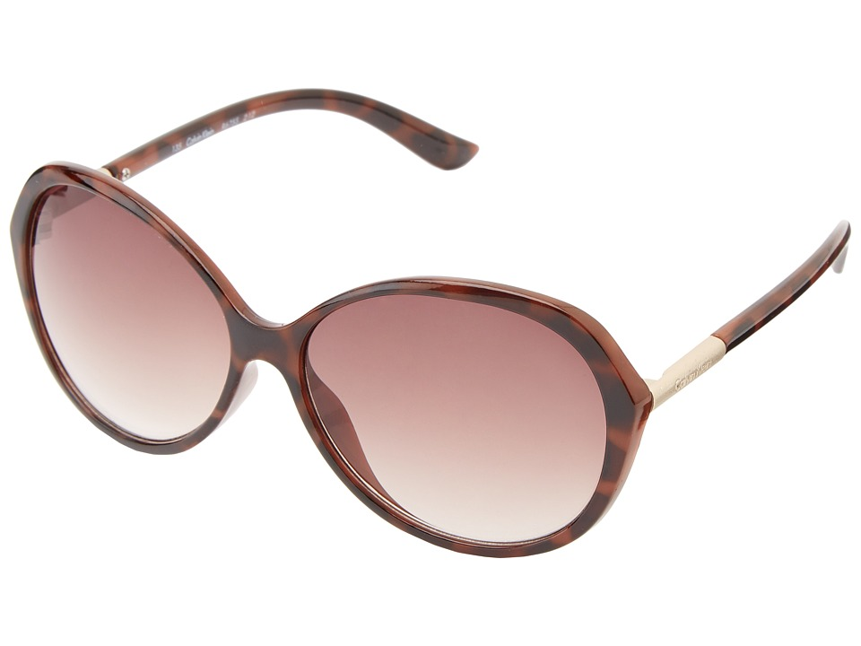 Calvin Klein - CWR675S (Soft Tortoise) Fashion Sunglasses