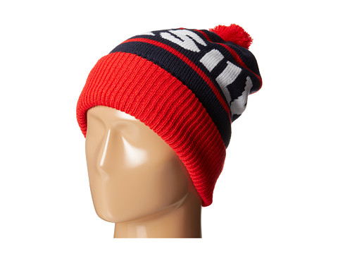Quiksilver - Summit Beanie (Fiery Red) Beanies