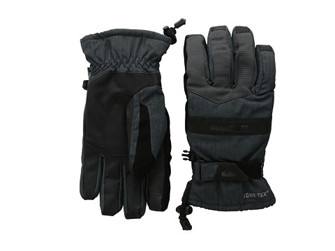 Quiksilver - Hill Gore-Tex Glove (Asphalt) Extreme Cold Weather Gloves