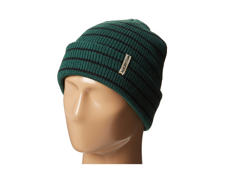 Macbeth - Stripes Knit Beanie (Green Stripes) Beanies