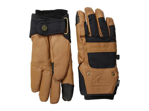 Quiksilver - Wildcat Glove (Caviar) Extreme Cold Weather Gloves