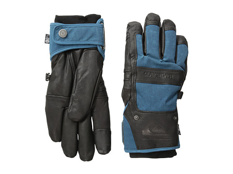Quiksilver - Wildcat Glove (Moroccan Blue) Extreme Cold Weather Gloves