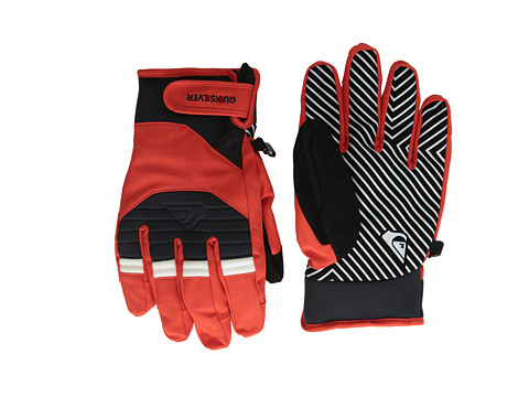 Quiksilver - Method Glove (Fiery Red) Snowboard Gloves