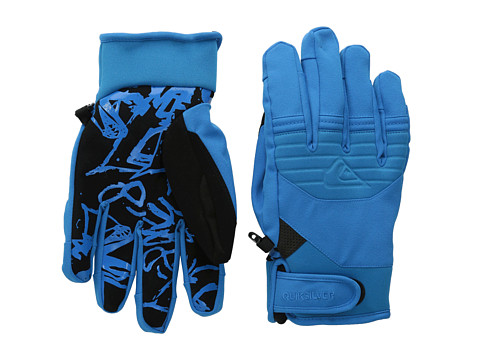 Quiksilver - Method Glove (Brilliant Blue) Snowboard Gloves