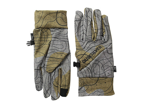 Quiksilver - City Liner (Topo Wool) Snowboard Gloves