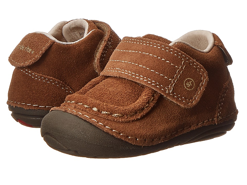 Stride Rite - SRT SM Darwin (Infant/Toddler) (Brown) Boy's Shoes