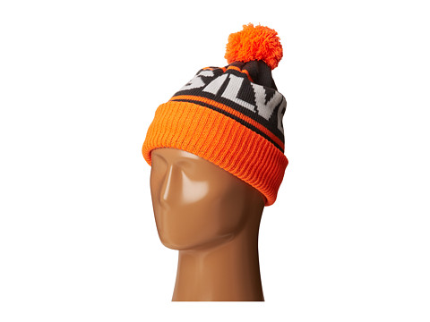 Quiksilver - Summit Beanie (Big Kids) (Shocking Orange) Beanies