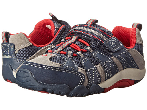 Stride Rite - SRT Jasper (Toddler) (Navy/Red) Boy