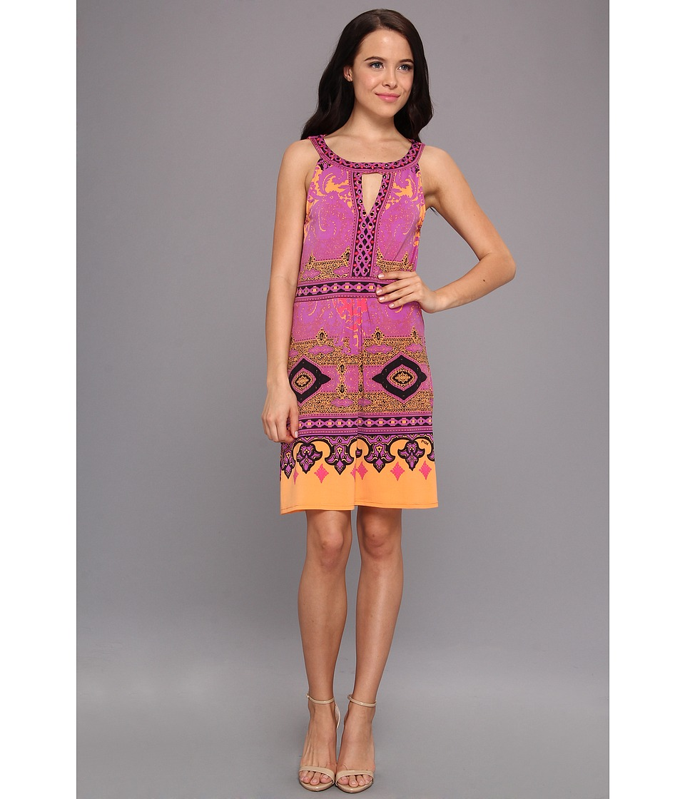 Hale Bob - Halter Dress (Purple) Women's Dress