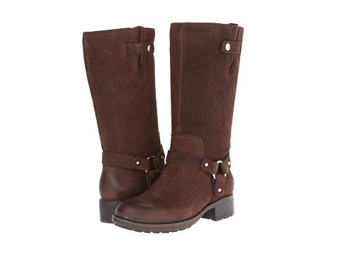 Rockport - First Street Moto Strap Boot (Ebano Burnished) Women's Boots