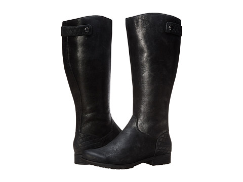 Rockport - Tristina Quilted Waterproof Boot Wide Shaft (Black Waterproof - ES) Women's Boots
