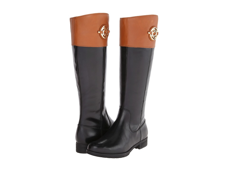Rockport Tristina Crest Riding Boot (Black/Valigia) Women
