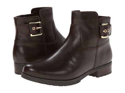 Rockport - Tristina Buckle Ankle Bootie (Dark Brown Smooth) Women's Boots