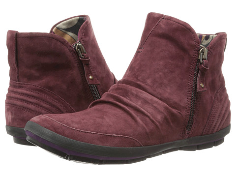 Cobb Hill - Tatum (Wine) Women's Zip Boots