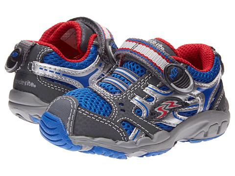 Stride Rite - M2P Baby Rhett A/C (Toddler) (Blue/Silver) Boy's Shoes