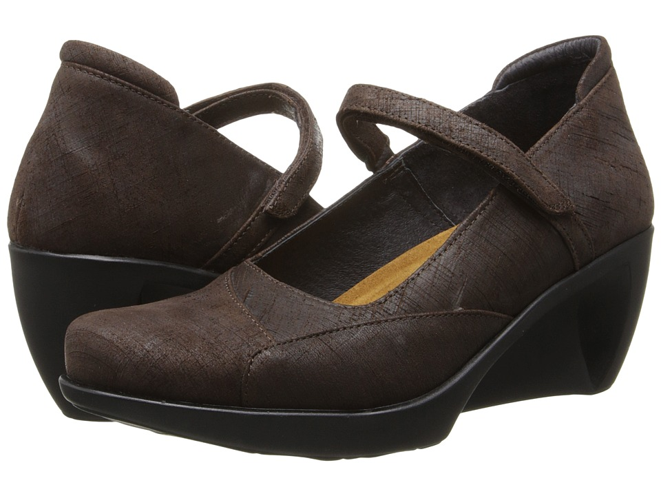 Naot Footwear - Day (Mine Brown Leather) Women's Flat Shoes