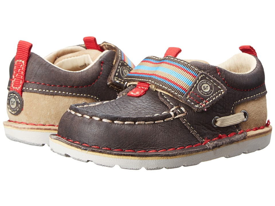 Stride Rite - Medallion Collection Dane (Toddler) (Brown/Tan) Boy's Shoes