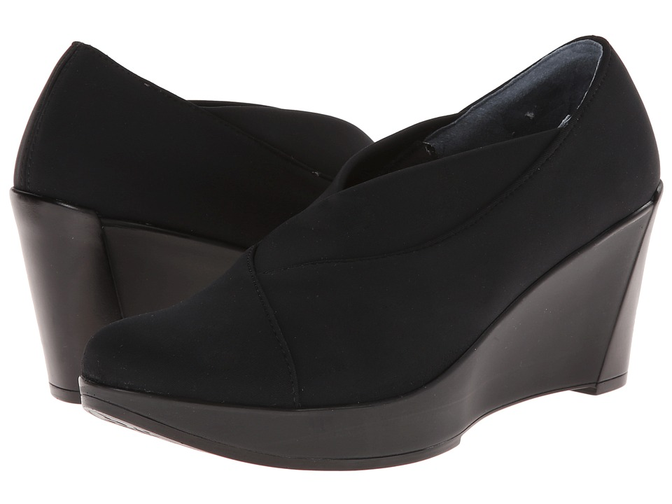 Naot Footwear - Adele (Black Stretch) Women's Flat Shoes