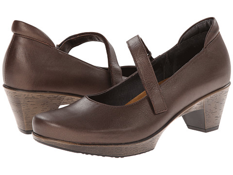 Naot Footwear - Muse (Brown Shimmer Nubuck) Women's Flat Shoes