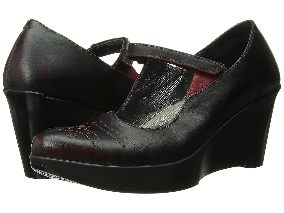 Naot Footwear - Alma (Volcanic Red Leather/Ruby Leather) Women