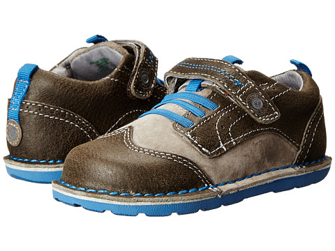 Stride Rite - Medallion Collection Winston (Toddler) (Grey/Blue) Boy's Shoes