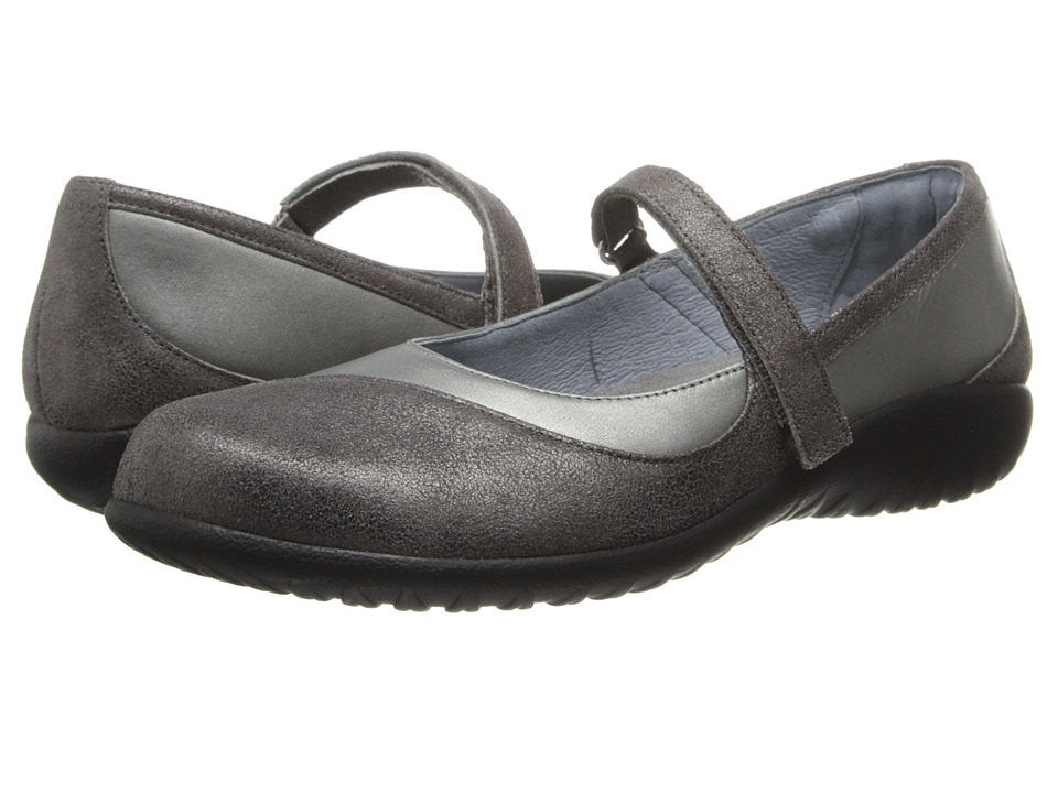 Naot Footwear Kukamo (Sterling Leather/Gray Shimmer Leather) Women