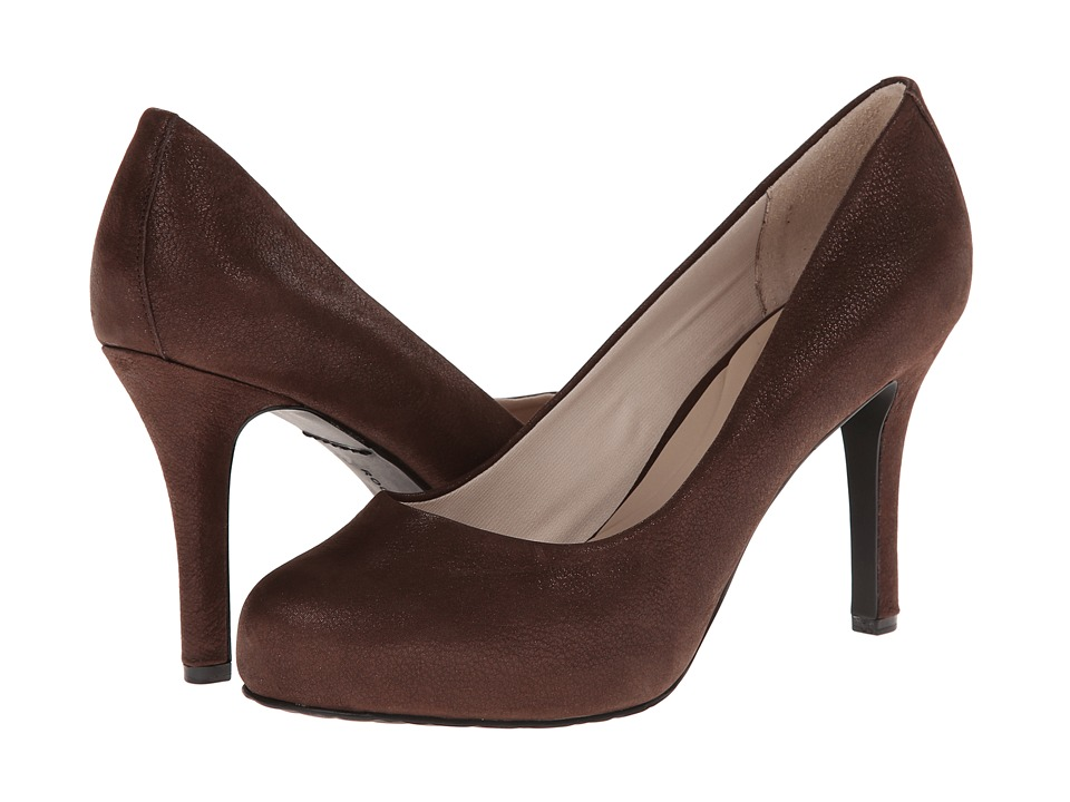 Rockport - Seven to 7 High Plain Pump (Bronzed Coach Suede) High Heels