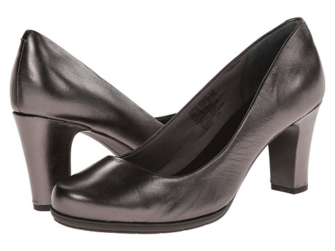 Rockport - Total Motion 75mm Plain Pump (Pewter Metallic) High Heels