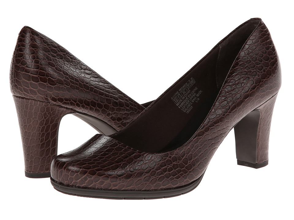 Rockport - Total Motion 75mm Plain Pump (Coach Croco) High Heels