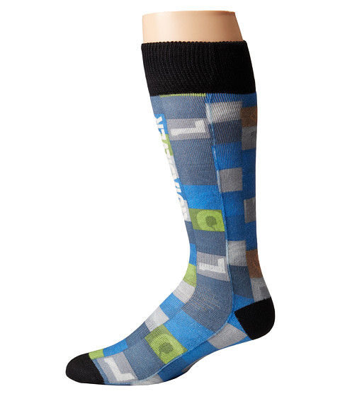 Quiksilver - Riding Socks (Toddler/Little Kid) (Huff Blue) Men's Knee High Socks Shoes