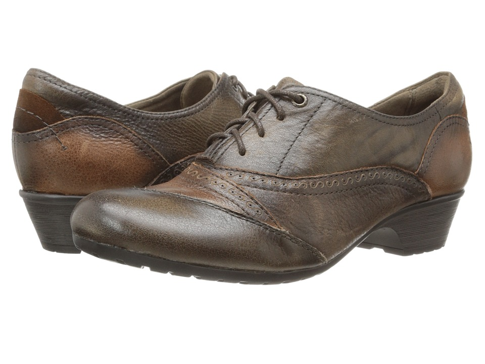 Rockport - Cobb Hill Georgina (Brown Antiqued) Women's Lace up casual Shoes