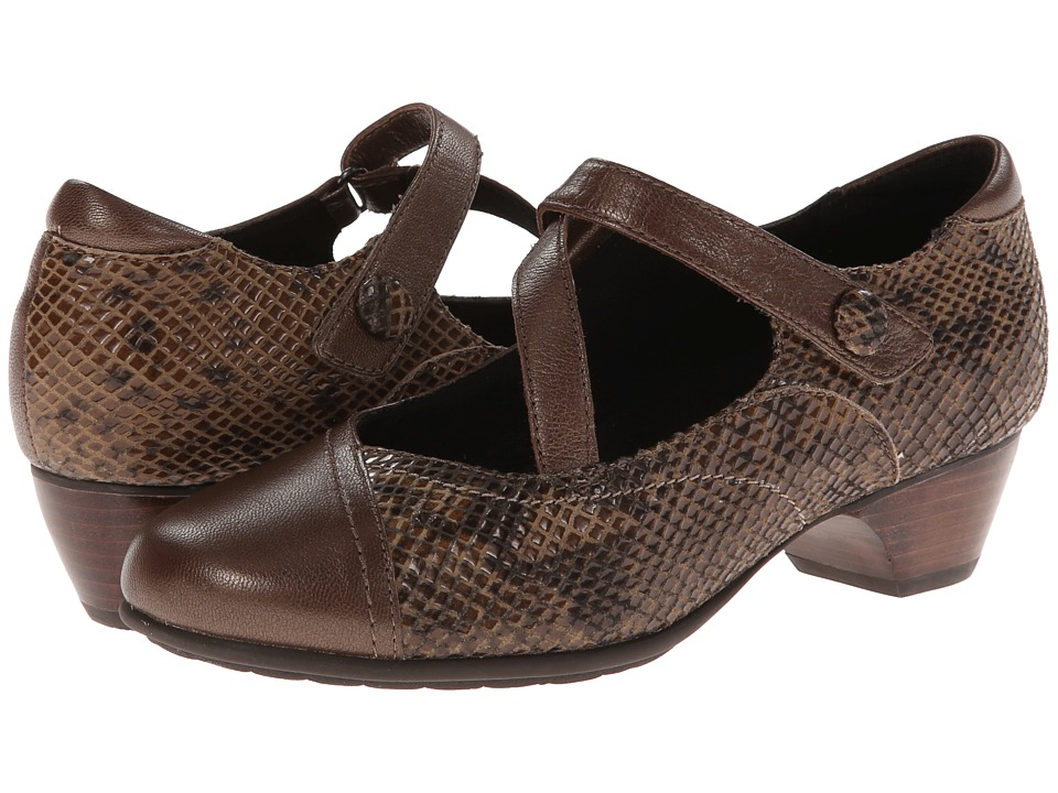 Aravon Portia (Bronze Multi) Women's Maryjane Shoes