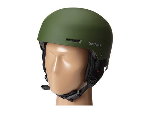 Quiksilver - Axis Helmet (Army) Snow/Ski/Adventure Helmet