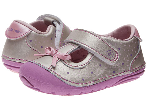 Stride Rite - SRT SM Nala (Infant/Toddler) (Neutral) Girl's Shoes