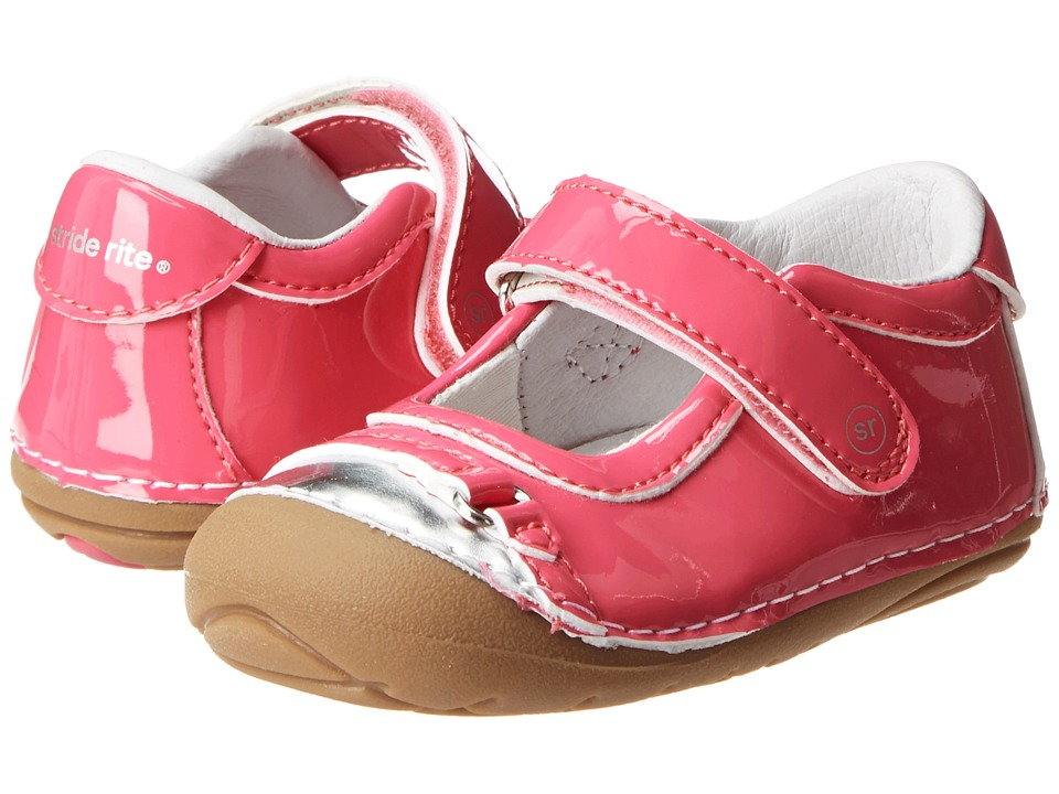 Stride Rite - SRT SM Buttercup (Infant/Toddler) (Pink/Silver) Girl's Shoes