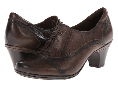 Cobb Hill - Sheila (Brown Antiqued) Women's Lace up casual Shoes
