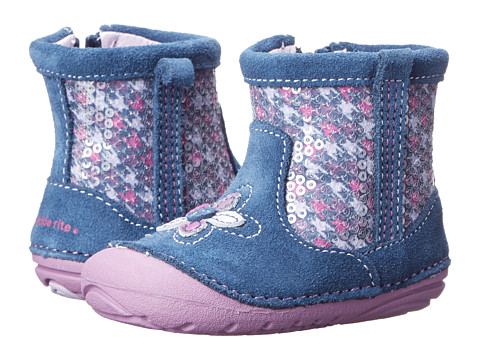 Stride Rite - SRT SM Luminara (Infant/Toddler) (Navy/Purple) Girls Shoes