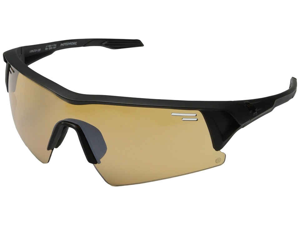 Spy Optic - Screw Over (Matte Black/Bronze Photochromic w/ Light Silver Mirror) Sport Sunglasses
