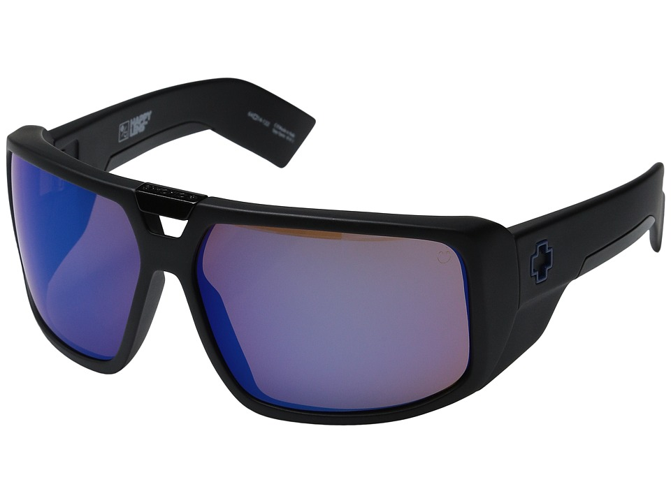 Spy Optic - Touring (Matte Black/Happy Bronze w/ Blue Spectra) Sport Sunglasses
