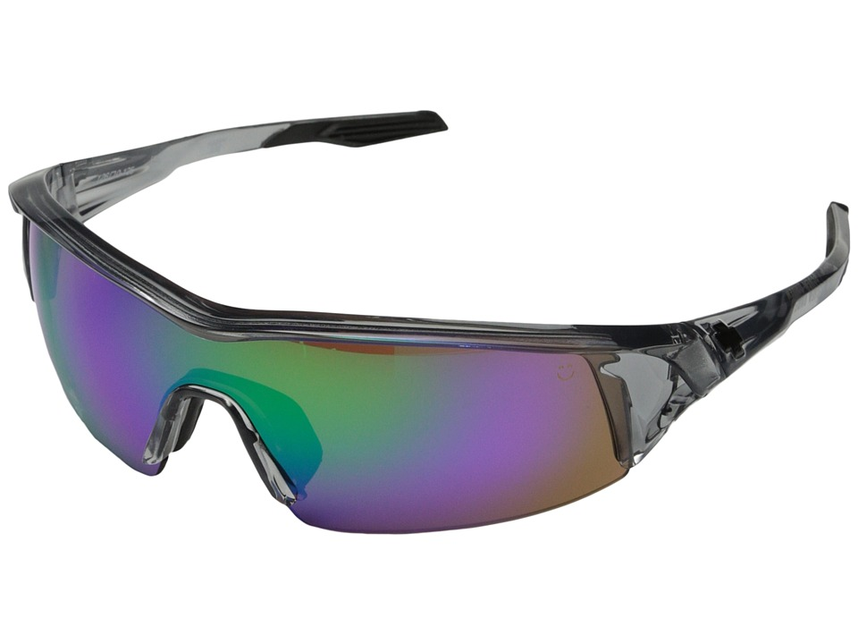 Spy Optic - Screw Under (Clear Smoke/Happy Bronze w/ Green Spectra) Sport Sunglasses