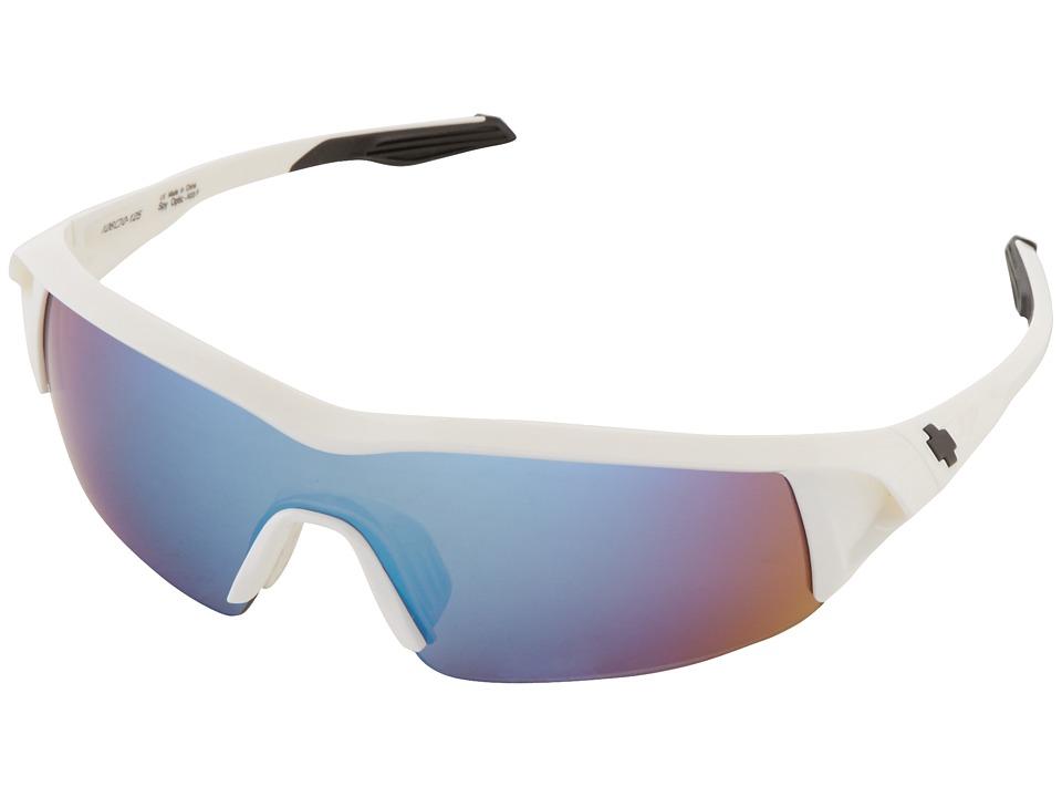 Spy Optic - Screw Under (White/Bronze w/ Blue Spectra) Sport Sunglasses