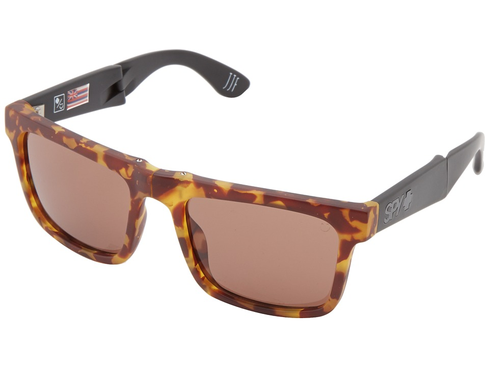 Spy Optic - The Fold (1956 Tort/Black/Happy Bronze) Sport Sunglasses