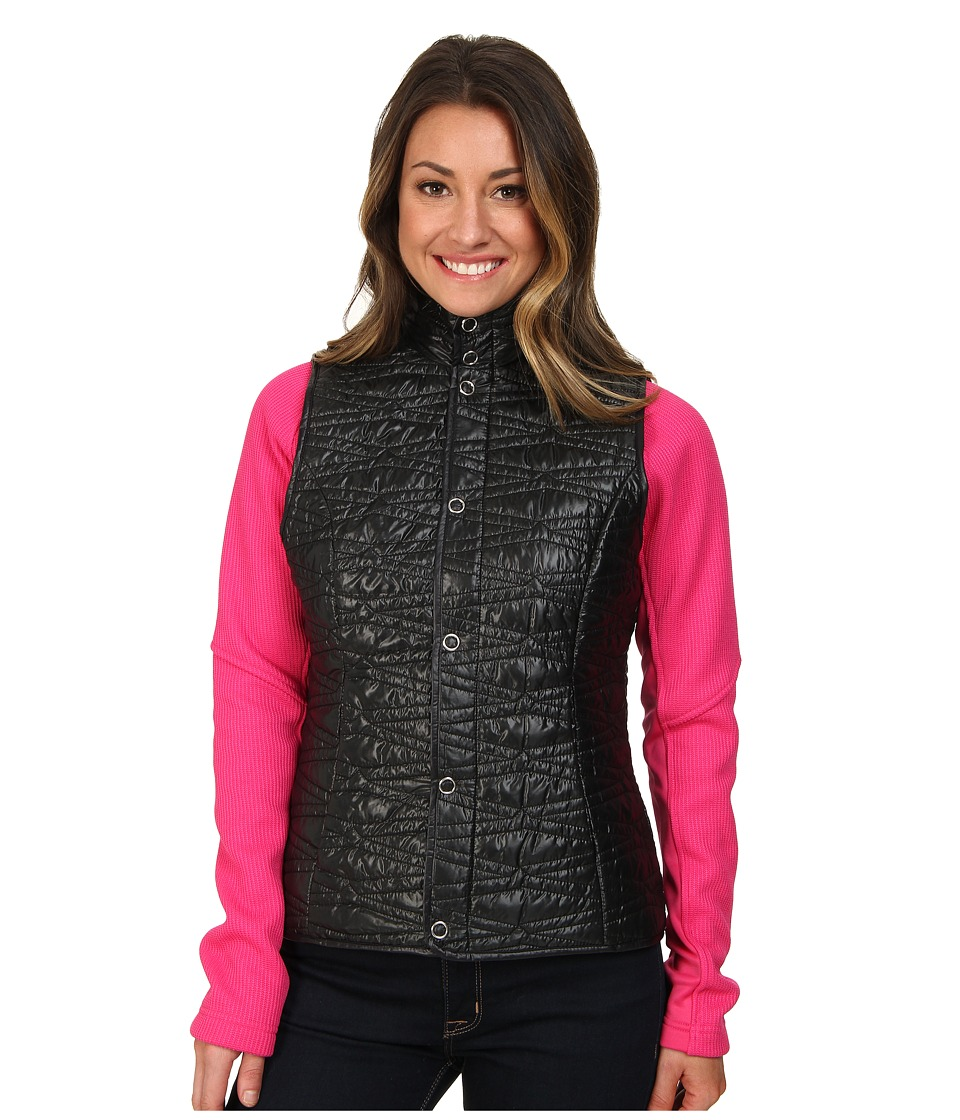 Spyder - Curve Sweater Weight Insulator Vest (Black) Women's Vest