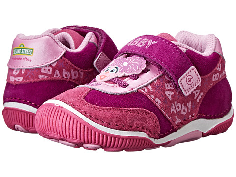 Stride Rite - SRT Abby Boot (Toddler) (Pink/Purple) Girls Shoes