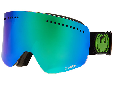 Dragon Alliance - NFX (Jet/Green Ionized+Yellow Blue Ionized) Goggles
