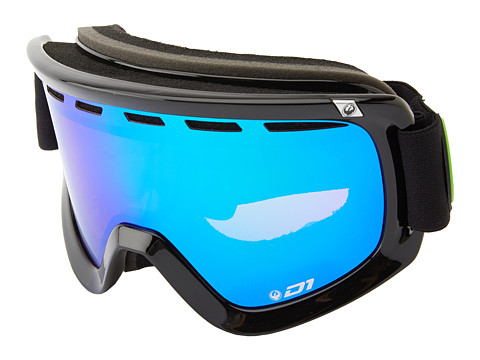 Dragon Alliance - D1 (Jet/Green Ionized+Yellow Blue Ionized) Goggles