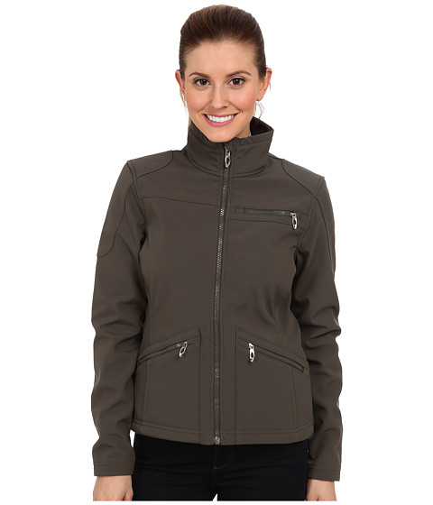 Spyder - Fresh Air Softshell Jacket (Osetra/Girlfriend) Women