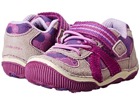 Stride Rite - SRT Hattie (Toddler) (Purple/Grey) Girls Shoes