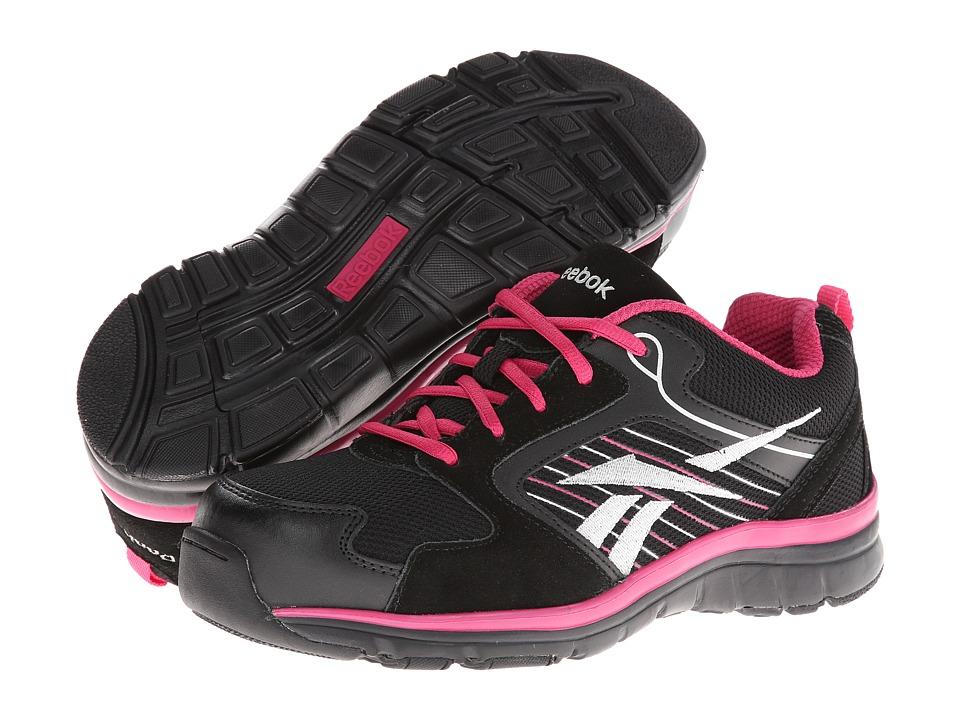 Reebok Work - Anomar (Black/Pink) Women's Work Boots