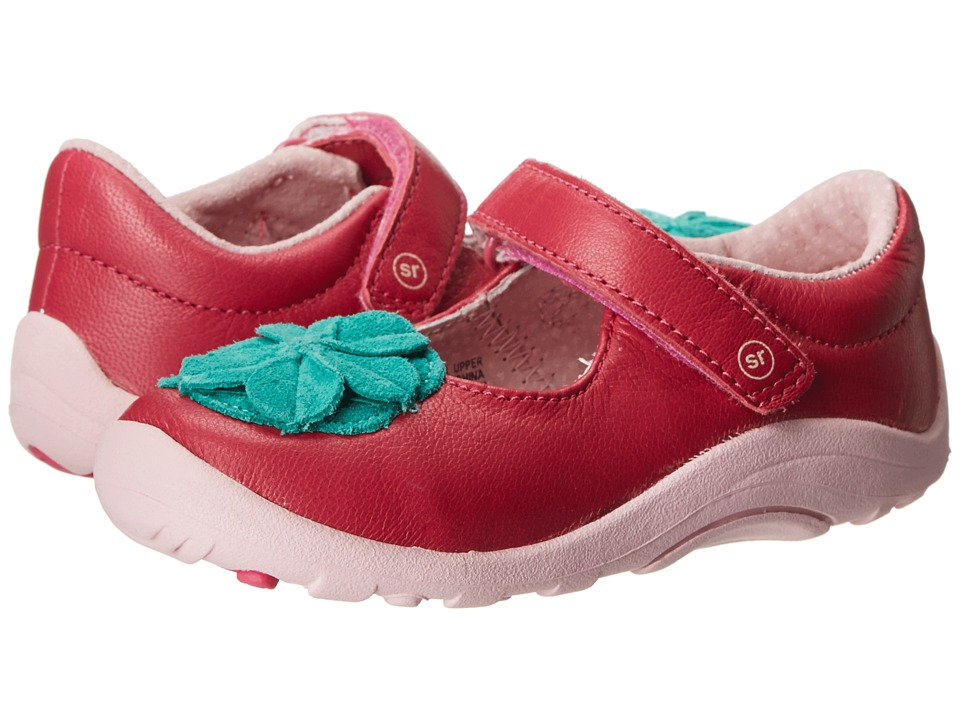 Stride Rite - SRT Lana (Toddler) (Pink/Turquoise) Girl's Shoes